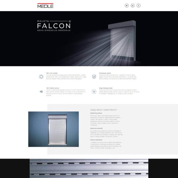 Falcon Medle - Desktop