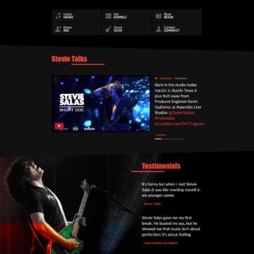 Stevie Salas - Desktop